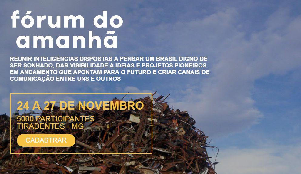 Fórum do Amanhã, em Tiradentes - MG