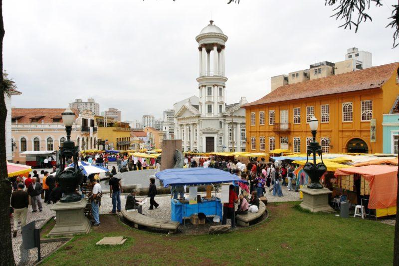 Feira de Artesanato Centro Histórico Curitiba PR