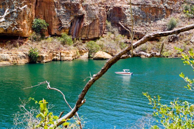 Cânions de Xingó SE (Foto: http://www.turismosergipe.net/escolha-seu-destino/rota-do-sertao)