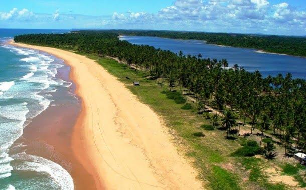 Praias Península de Maraú BA (Foto: http://www.peninsulabeachclubhotel.com.br/peninsula-de-marau/)