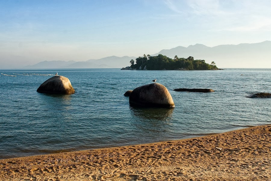 Praia da Tapera Florianópolis SC