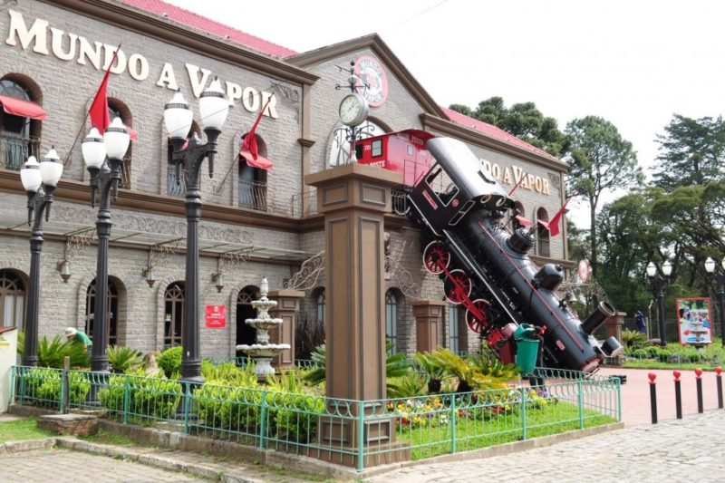 Parque Mundo a Vapor Canela RS