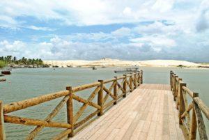 Praia de Mundaú CE (Foto: //www.montaltur.com.br/pacotes/mundau/)