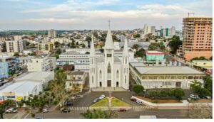 Igreja Matriz Xanxere (foto https://turismo.xanxere.sc.gov.br/)